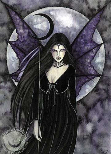 Jessica galbreth gothique for Maitresse lilith
