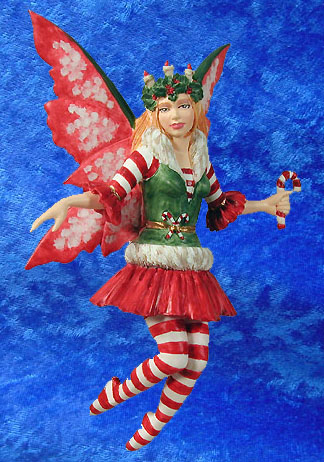 CANDY CANE. This is an official photo superimposed onto my blue background  sc 1 st  The Sorcerers Library & Amy Brown - Holiday Diva - Candy Cane